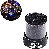Jdwg inanılmaz renkli yıldız-Gökyüzü-romantik hediye-Kosmos-Gökyüzü-yıldız-Vorlagenmagie-Baby-Kinderprojektor-LED-yıldızlı gece lambası lamba