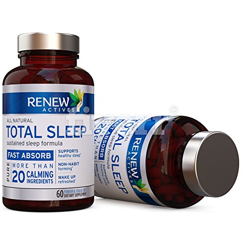 All Natural Sleep Aid Supplement. Non-Habit Forming Sleeping Pill. Our Guarantee is A Deeper, Longer & Restful Sleep! Starting Tonight Get the Peaceful & Natural Sleep You Deserve! by Renew Actives (Image #6)