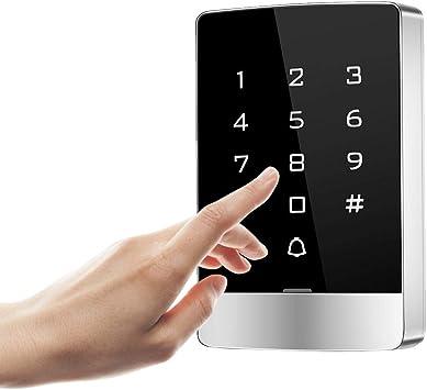 Control de acceso de puerta, T9-W Touch IPX5 Impermeable ...