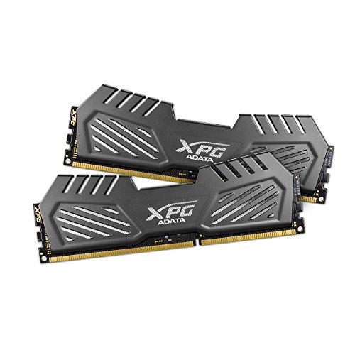 ADATA XPG V2 DDR3 1600MHz (PC3 12800) 16GB (8GBx2) Memory Modules, Tungsten Grey (AX3U1600W8G9-DMV)