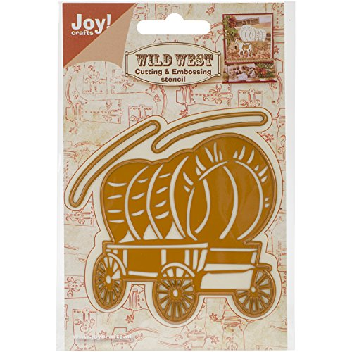 Joy! Crafts 3 Piece Cutting and Embossing Die, Chuck Wagon