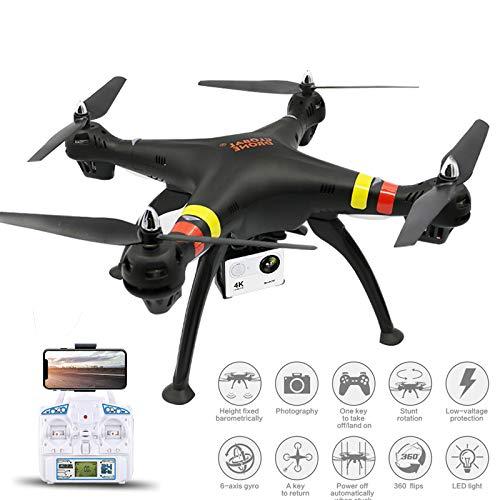 Mengen88 Quadcopter 4k HD-Fernbedienung Flugzeughersteller Luftbildfotografie FPV RC Drohne 1200W HD-Pixel 120°Wide-Angle Optical Anti-Shake Easy Control Altitude Hold