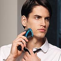 Philips AT750/26 - Afeitadora sin cable, afeitar con AquaTouch para uso en seco y húmedo, con cabezales flexibles, batería, negro, azul, 2012: PHILIPS: Amazon.es