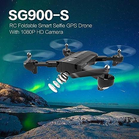 Bigherdez SG900-S 2.4G RC Drone Selfie Plegable Inteligente GPS ...