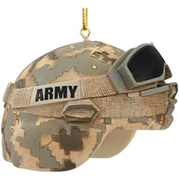 United States Army Combat Helmet Christmas Ornament