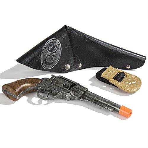 8 Shot Cap Guns (Johnny Reb Pistol & Holster Set)