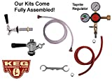 Single Tap Fridge Kit, ''D'' Commercial (Sanke) Beer Kegs, Taprite Regulator