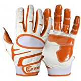 Cutters Endurance Baseball Gloves (Orange, Youth Large)