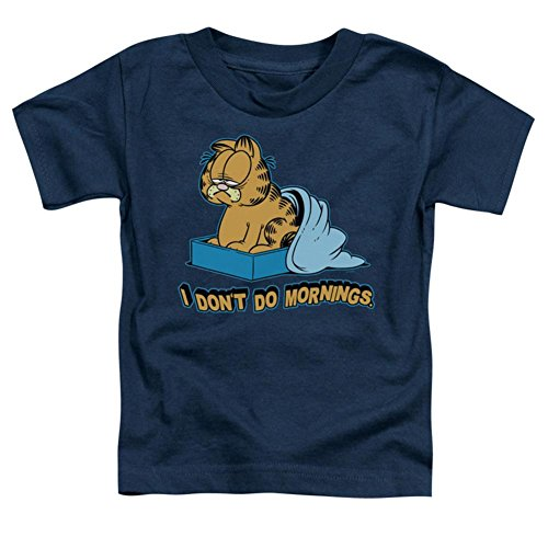 Toddler: Garfield - I Don't Do Mornings T-Shirt Size 3T - Licensed Garfield
