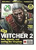 OFFICIAL XBOX MAGAZINE, MAY, 2012 (WORLD EXCLUSIVE WITCHER2) SEX SWORDS,