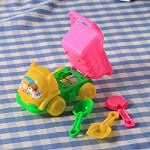 Fdrirect 3Pcs Sand Rake Dump Truck Spade Shovel Children Kids Baby Boys Girls Fun Play Beach Toys Set