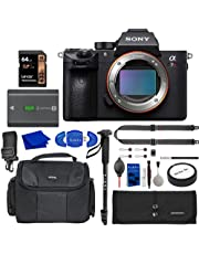 $2398 » Sony Alpha 7R III Mirrorless Digital Camera Bundle with 64GB Memory Card, Extra Sony NP-FZ100 Battery, Peak Design Strap, Water-Resistant Bag, Accessory Rollup, Monopod + More | Sony a7R III Camera