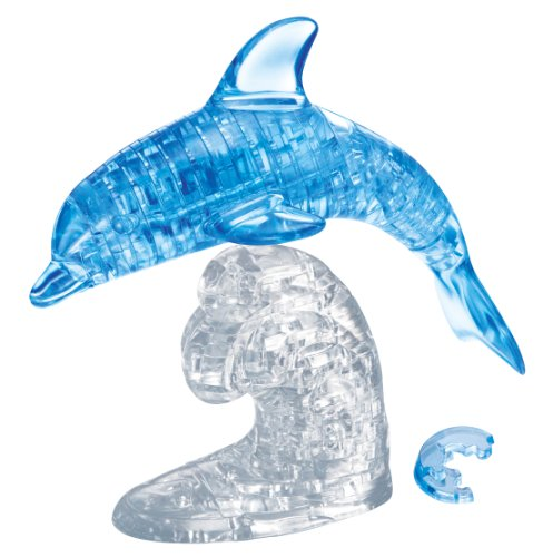 Blue Dolphin Crystal Puzzle 50124 - Dolphins Of The Ca
