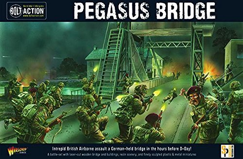 Bolt Action Warlord Games, Pegasus Bridge secon edition, Wargaming Miniatures - German Mg42 Machine Gun