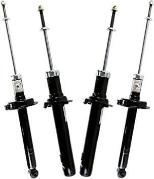 Prime Choice Auto Parts KS037-124PR Set of Two Shocks and Two Struts