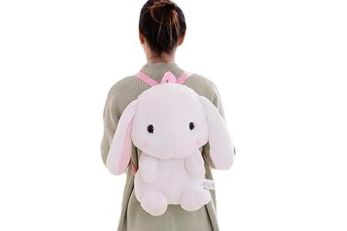 Cartoon Anime Backpack Little Bunny Shoulder Bag Cute Rabbit Bag