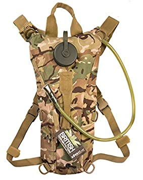 3f4b447f09 Image Unavailable. Image not available for. Colour  Army Combat Water Aqua  Hydration Bladder Camel Back Pack Day Rucksack ...