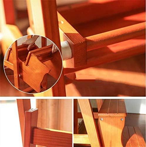 Zfggd Tabouret Tabouret en Bois Massif en Bois Massif empilables multifonctionnels chaises Pliantes de Chaussures en 2 étapes (Size : #3)