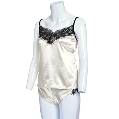 Rcool Camisones Batas y Kimonos Camisones Mujer Camisones Verano Camisones Tallas Grandes Mujer, Lace Passion Lingerie Babydoll Nightwear 2PC Set C: ...
