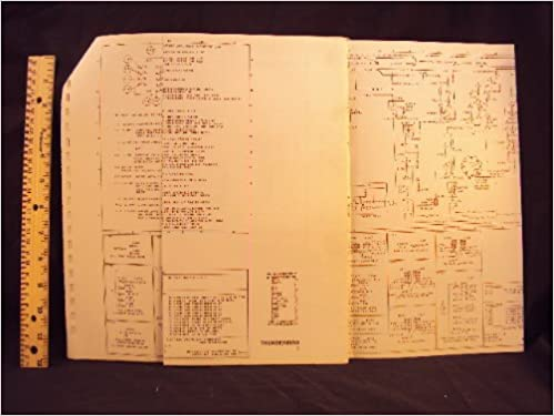 1977 77 ford thunderbird electrical wiring diagrams manual ~original: ford  motor company: amazon com: books