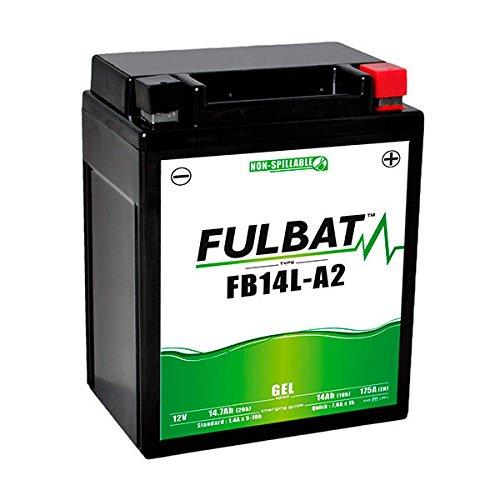 12N14-3A 12V 14Ah Batterie Moto Gel YB14L-A2 Fulbat