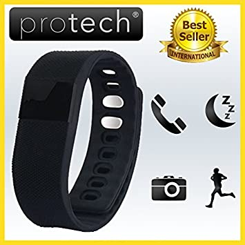 Proband - Reloj táctil inteligente, activity tracker. Compatible con Android e iPhone iOS 6 plus S, 6S, ...