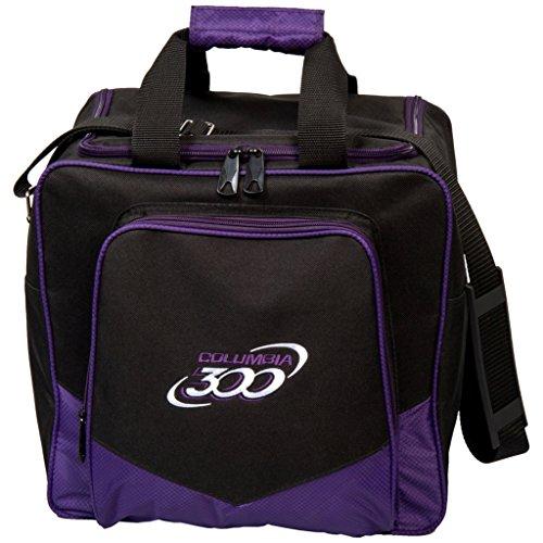 Columbia 300 Columbia White Dot Single Bowling Bag, Purple