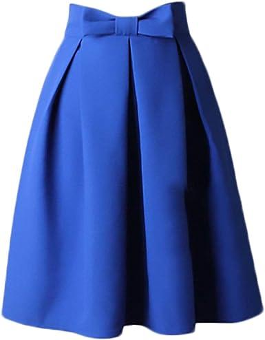 junkai Faldas De La Mujer De Los Años 50 Faldas Bowknot Faldas ...