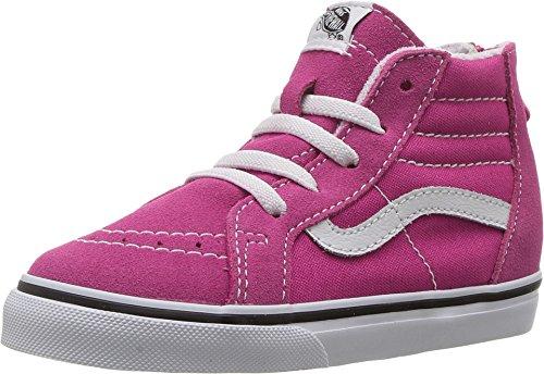 Vans Toddlers Sk8-Hi Zip Very Berry/True White Skate Shoe 4 Infants US