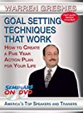 Goal Setting Techniques That Work - How to Create A Five Year Action Plan for Your Life - Seminars On Demand Personal Development Motivational Training Video - Speaker Warren Greshes - Includes Streaming Video + DVD + Streaming Audio + MP3 Audio