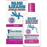 Blue Lizard Australian Sunscreen - Baby Sunscreen SPF 30+ Broad Spectrum UVA/UVB Protection - 5 oz Bottle