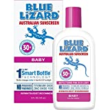 Blue Lizard Australian Sunscreen - Baby Sunscreen SPF 30+ Broad Spectrum UVA/UVB Protection - 5 oz Bottle