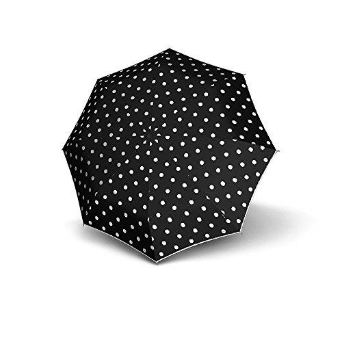 knirps-t2-duomatic-womens-print-umbrella-black-dot