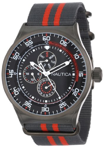 Nautica Unisex N16575G NST 17 Multi Function Watch