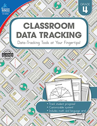 (Carson-Dellosa Classroom Data Tracking Resource Book, Grade 4)