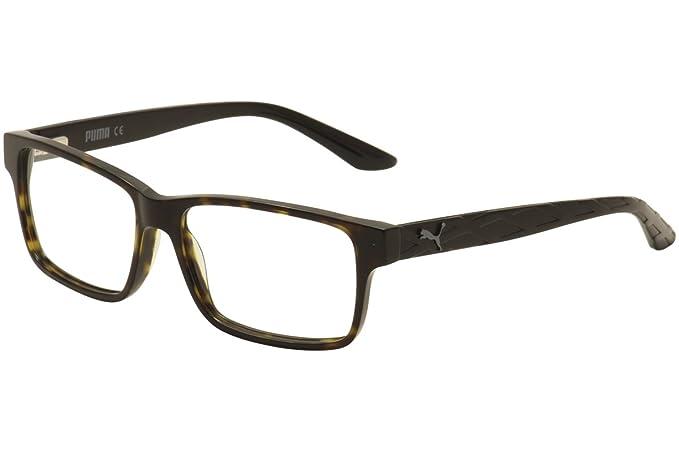 Amazon.com: Puma PU0026O Mens Eyeglass Frames - Havana/Black: Sports ...
