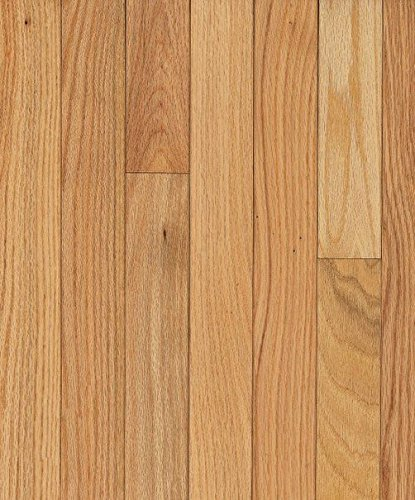 Teak Hardwood Flooring - Bruce Hardwood Floors CB210 Dundee Strip Solid Hardwood Flooring, Natural
