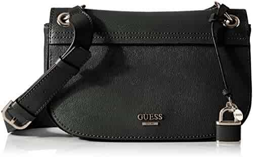 GUESS Devyn Shoulder Bag-Black