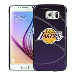 New Custom Design Cover Case For Samsung Galaxy S6 laker 11 Black Phone Case