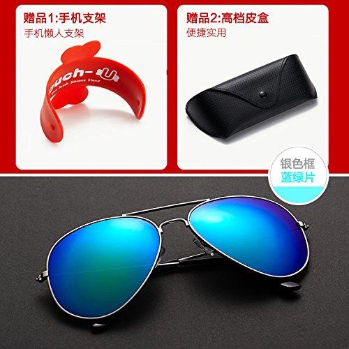 De De grüne Hembra Y Polarizadas Sol Gafas zhenghao Xue Sol Macho Gafas para Brown TqEOnXw