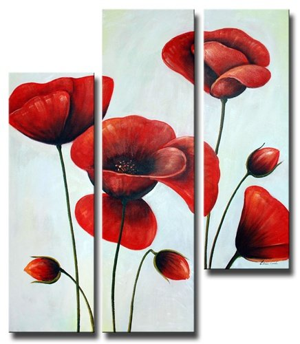 Ruby Red Poppies
