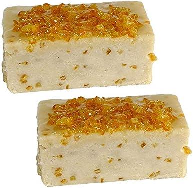 Turron de Naranja Artesano - Pieza de 300 g aprox. - Elaborado en Medina Sidonia - Sobrina de las Trejas (Pack de 2 piezas): Amazon.es: Alimentación y bebidas