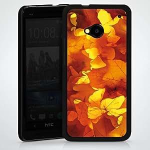 Carcasa Design Funda para HTC One M7 HardCase black - Laub