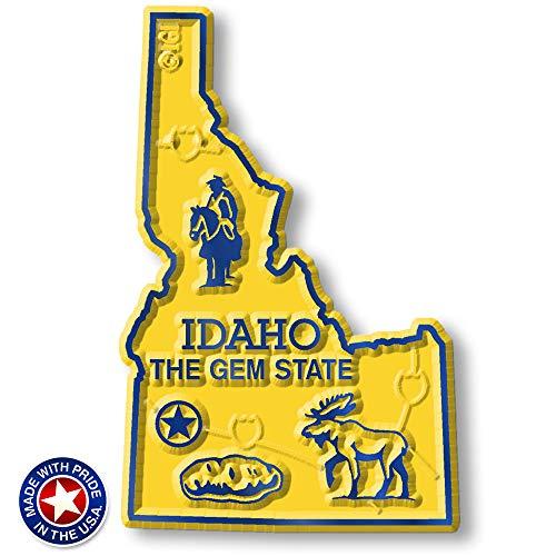(Idaho State Map Magnet)
