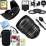 Nikon 20069 AF-S NIKKOR 28mm f/1.4E ED Lens + 64GB Ultimate Filter & Flash Photography Bundle