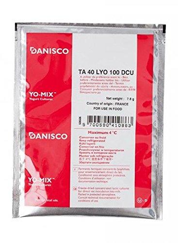 Thermophilic Culture TA 40 | 100 DCU Cheese Cultures Danisco