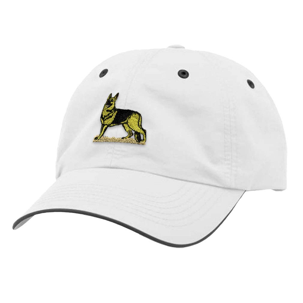 Custom Richardson Running Cap German Shepherd B Embroidery Dog Name Polyester