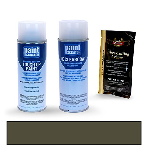 Dark Metallic Paint Charcoal - PAINTSCRATCH Charcoal Beige Metallic T7 for 2008 Ford F-Series - Touch Up Paint Spray Can Kit - Original Factory OEM Automotive Paint - Color Match Guaranteed
