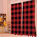 Best Plaid Home Collection Bird Houses - House Decor Collection Living Room Bedroom Curtain 2 Review
