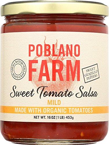 Poblano Farm, Mild Salsa, 16 Oz made in New England